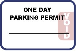Self Expiring Parking Permit